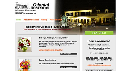 Colonial Flower Shoppe