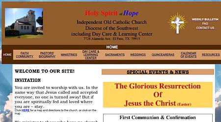 Holy Spirit of Hope