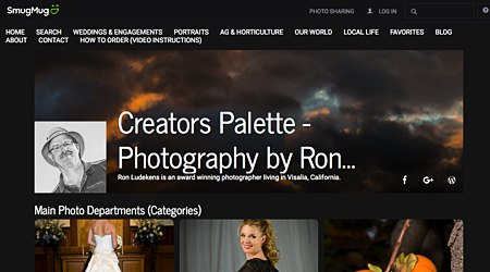 Creator's Palette - Photography by Ron Ludekens