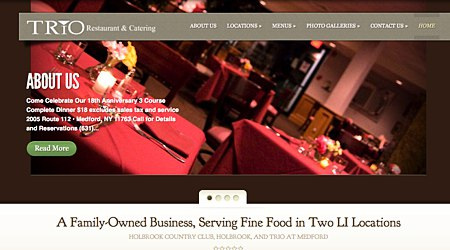 Trio Restaurant at the Holbrook Country Club