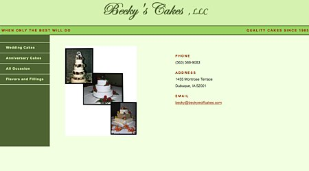 Becky's Cakes