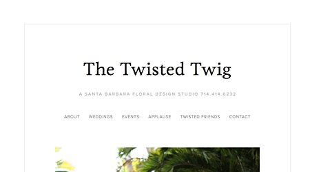 The Twisted Twig Fine Florals