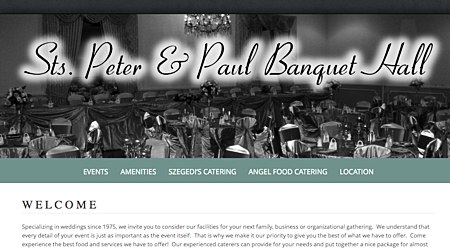 Sts. Peter & Paul Banquet Hall