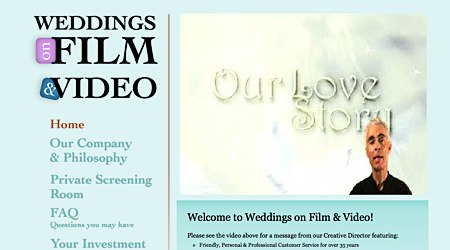 Weddings on Film and Video