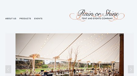 Rain or Shine Tents & Events