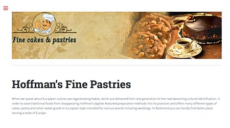 Hoffman's Fines Pastries