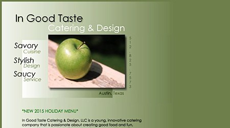 In Good Taste Catering & Design
