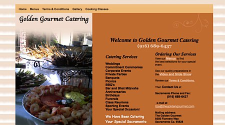 Golden Gourmet Catering