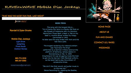 Rave on Wave Mobile Disc Jockeys