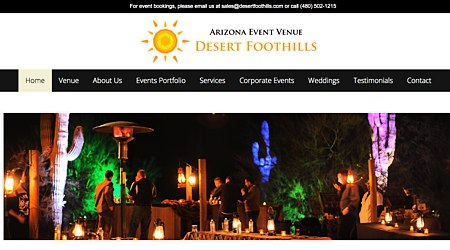 Desert Foothills Events