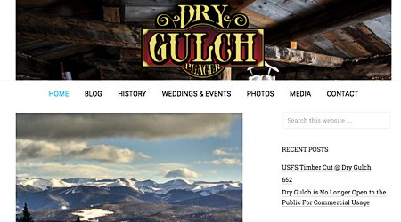 Dry Gulch Placer