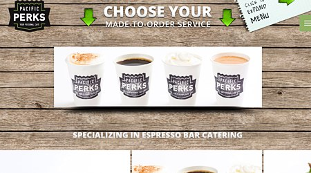 Pacific Perks Espresso Catering & More