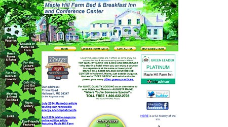 Maple Hill Farm B&B Inn