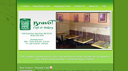 Bravo! Cafe & Bakery