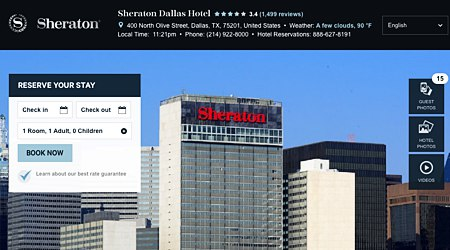 Sheraton Downtown Dallas Hotel