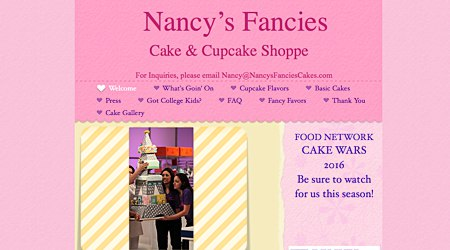 Nancy's Fancies Cakes