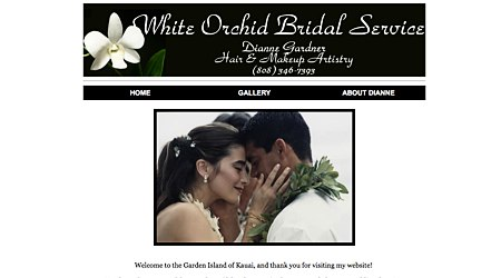 White Orchid Bridal Service