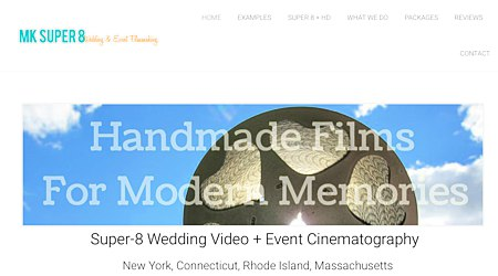 MK Super 8 Wedding & Event Filmmaking