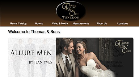 Thomas & Sons Tuxedos