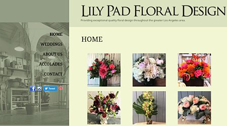 Lily Pad Floral Design