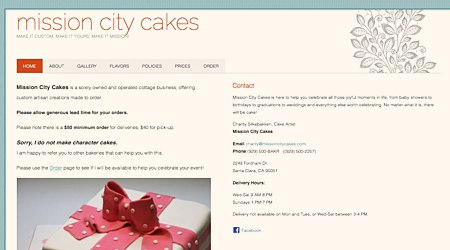 Mission City Cakes