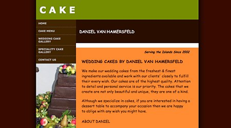 Wedding Cakes by Daniel Van Hamersfeld