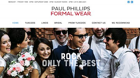 Paul Phillips Formal Wear