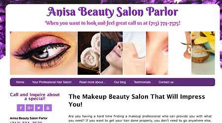 Anisa Beauty Salon Parlor