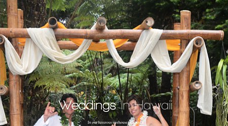 Mahinui Rainforest Weddings