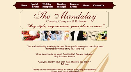 Mandalay Catering