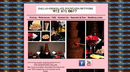 Dallas Chocolate Fountains Network