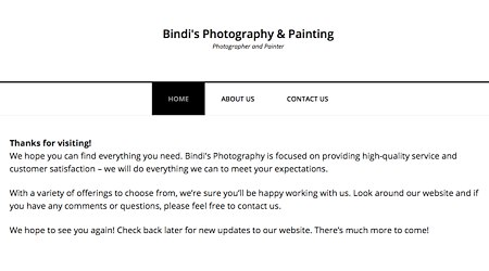 Bindi's Photography & Painting Gallery