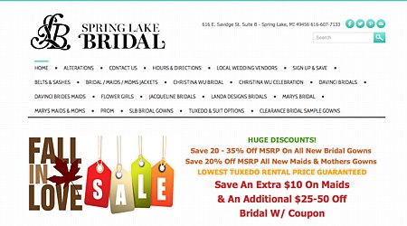Spring Lake Bridal &  Tuxedos
