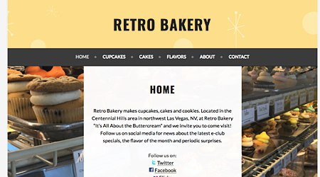 Retro Bakery