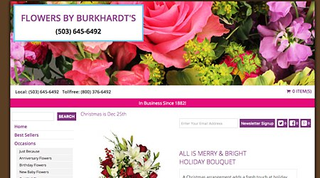 Flowers by Burkhardt's