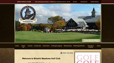 Blissful Meadows Golf Club