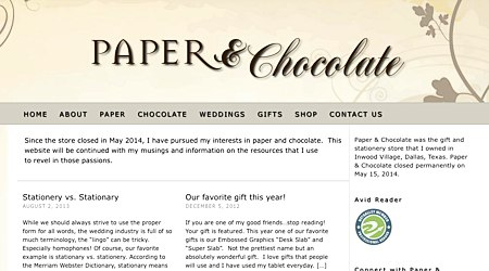 Paper & Chocolate