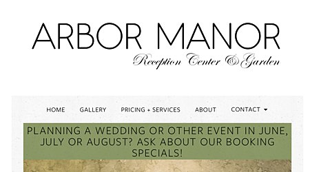 Arbor Manor Reception Center & Garden