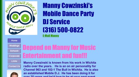 Manny Cowzinski's Mobile Dance Party DJ Service