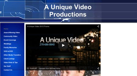 A Unique Video Productions