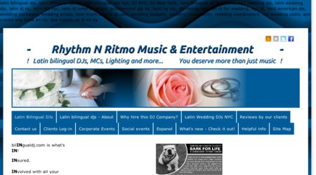 Rhythm N Ritmo Latin Bilingual Music & Ent.
