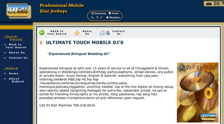 Ultimate Touch Mobile DJ's