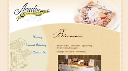 Acadie French Crepes Catering Services
