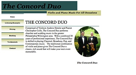 The Concord Duo