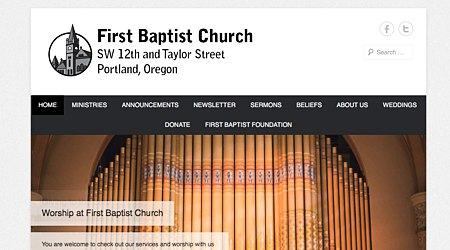 First Baptist Church of Portland, Oregon