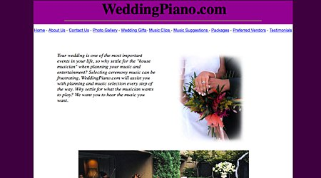 Wedding Piano Music