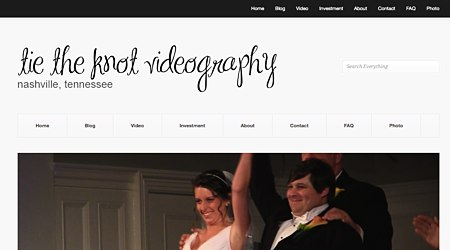Tie the Knot Videography