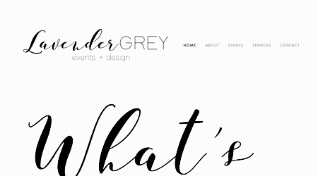 Lavender Grey Events