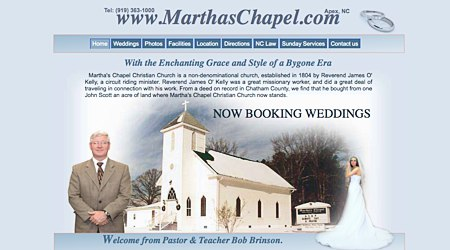 Martha's Chapel Christian Church