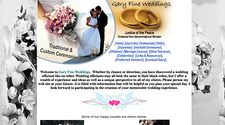 Gary Fine Weddings